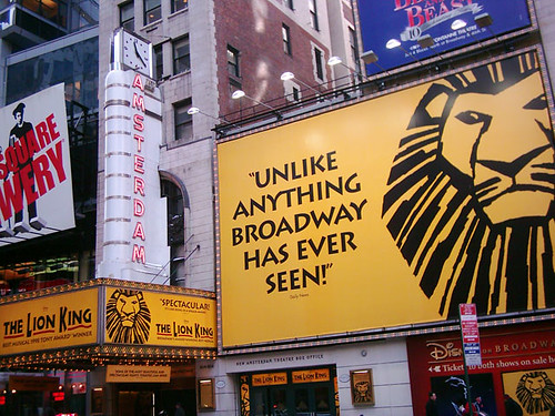 NYC - Lion King on Broadway
