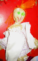 Burlap rag doll | by twoducks