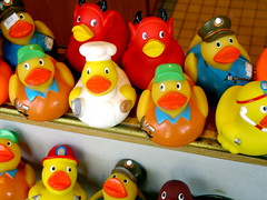 Bascom Hill soap buttons duckies | by Ann Althouse