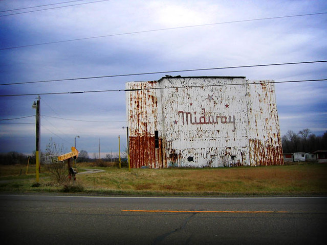 Ohio >> Midway Drive-In | Old drive-in. Columbiana County, Ohio | Bill Keaggy | Flickr
