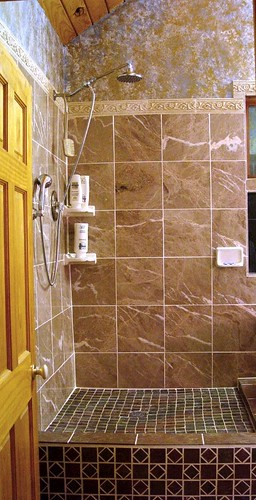Completed Custom Tiled Shower | by creatorsdream