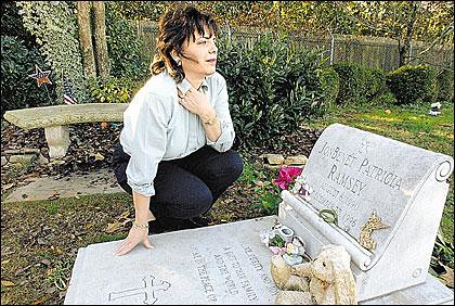 Get Free Credit Report >> Patsy Ramsey at JonBenet's grave | Found online. If anyone k… | Flickr