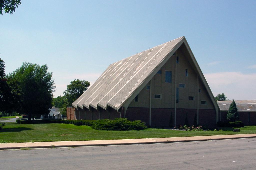 Folded Plate Roof Church Church Overland Park Kansas