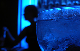 blue bartender | by opacity