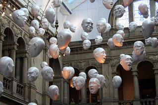 heads at Kelvingrove museum | by bob the lomond