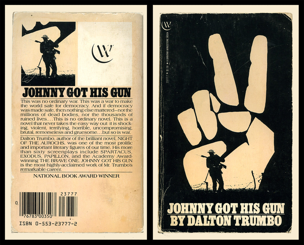 johnny got his gun book report For an essay due tomorrow on dalton trumbo's johnny got his gun, i need to evaluate the impact of rebirth and time keeping themes in the second half of the book.