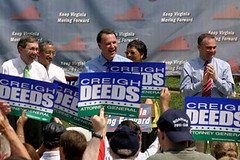 Senator Creigh Deeds (D-VA) speaks at the Unity Rally ('05) | by Senator Creigh Deeds