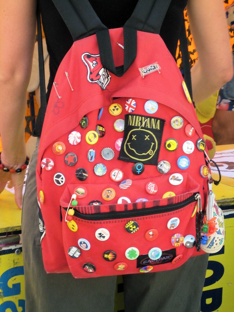 Sac 224 Dos Et Badges Bag And Badges Docchewbacca Flickr