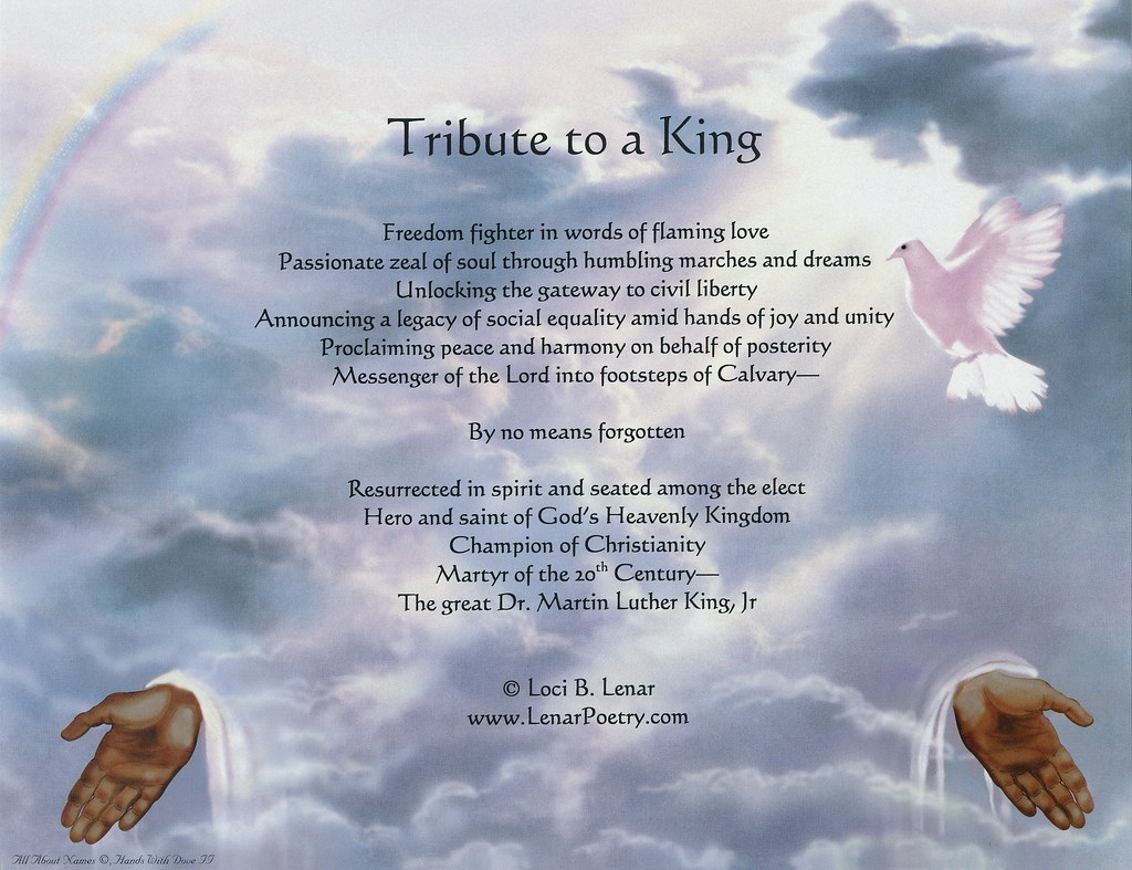 Tribute To King A Sign From Heaven Quot Tribute To A King