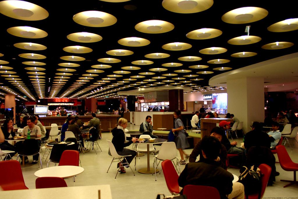 Melbourne Central Food Court Map