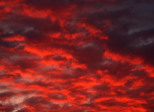 red steppe clouds - photo #29