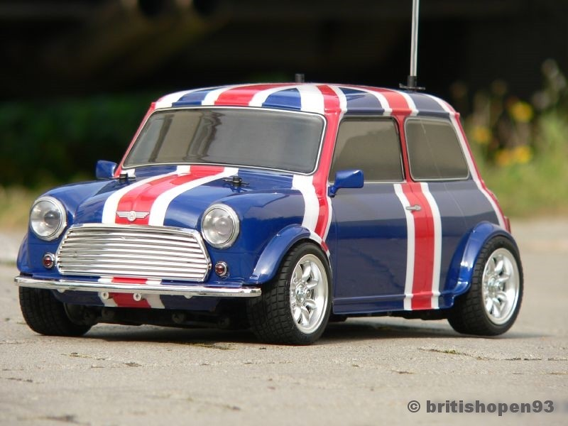 tamiya m03 mini cooper union jack 35 the union jack shell flickr. Black Bedroom Furniture Sets. Home Design Ideas