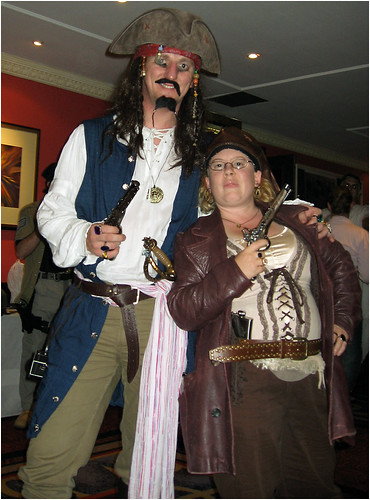 Zol and Becs | by International Talk Like A Pirate Day