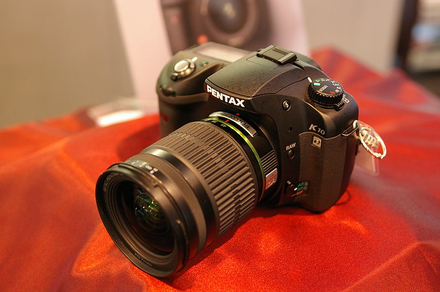 how to use pentax k10d