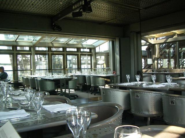 Restaurant Inside Eiffel Tower Meenal Kumar Flickr