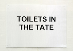 Toilets in the Tate | by Tales of a Flaneur