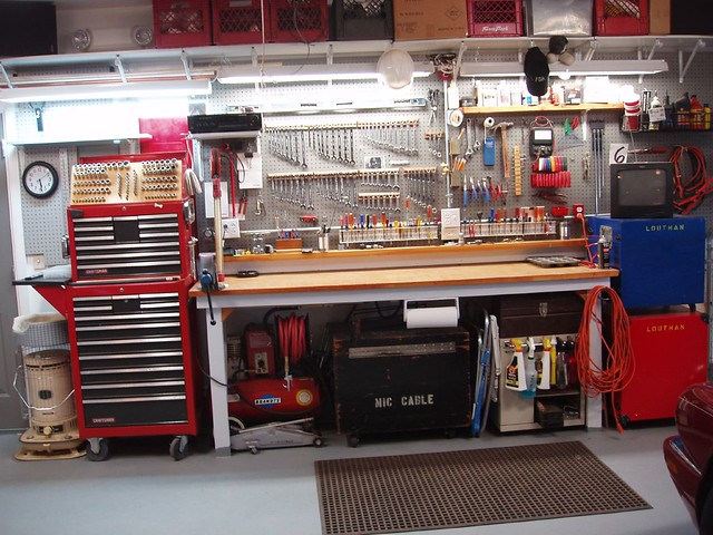 Mechanic Man Cave Ideas : Automotive garage clean mtneer man flickr