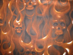 Skulls On Fire! | by kharold