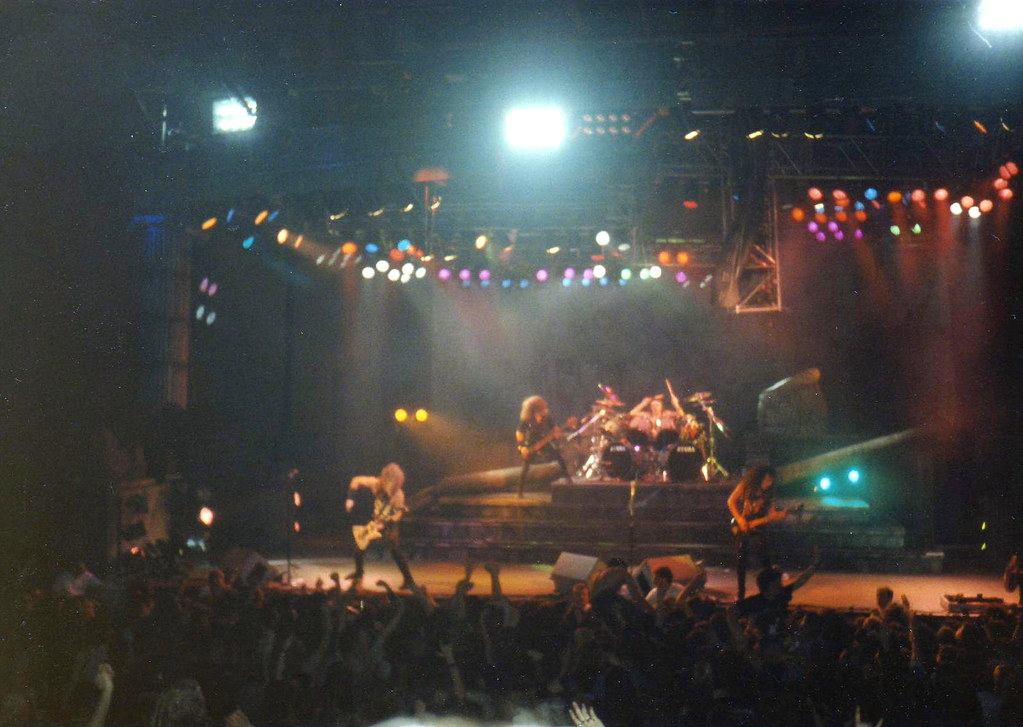 Metallica The And Justice For All Tour1988