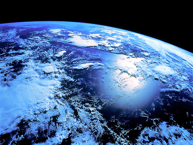 Nasa earth from outer space cold hubble scope flickr for From outer space