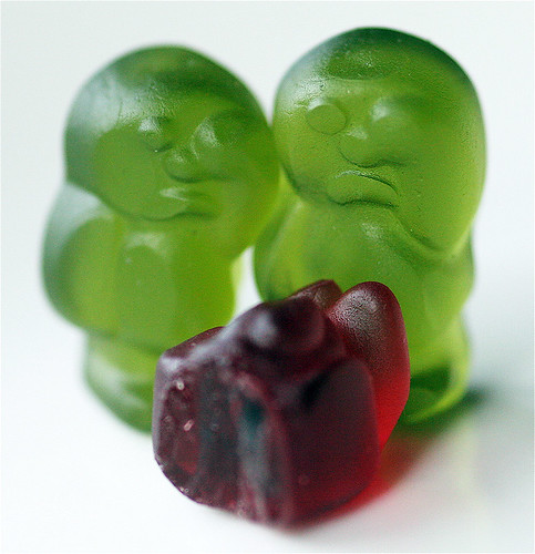 Jelly baby crime scene | by C Ray Dancer