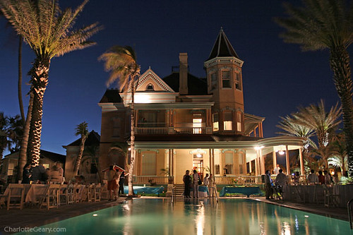 Southernmost Hotel In Key West During A Wedding Reception