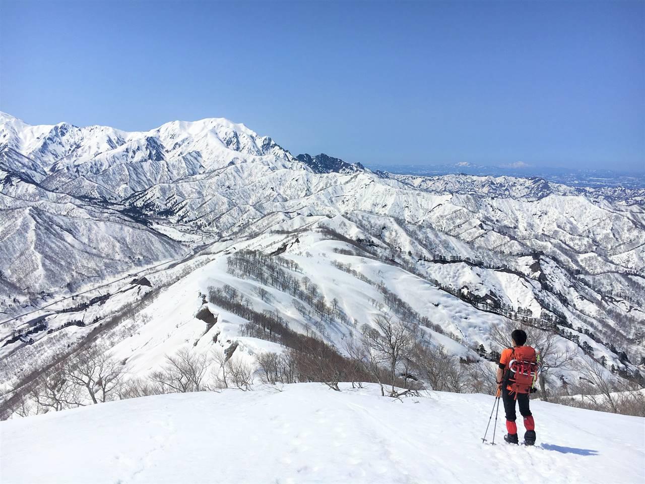 日向倉山から下山