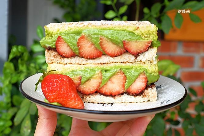 40054081855 2f968f9264 b - 卯食堂 | 豐原早餐推薦 肉蛋吐司、麵線專賣,激推季節限定超美的抹茶草莓三明治,這個真的好好吃!