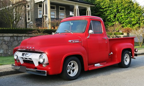 New Ford Truck >> 1954 Mercury M-100 pickup truck | Ford of Canada | Custom_Cab | Flickr