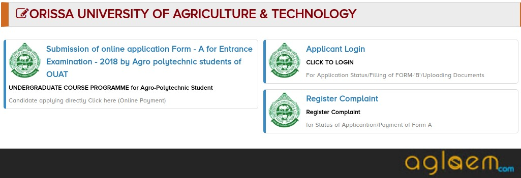 OUAT Admit Card 2018: Released, Download Hall Ticket