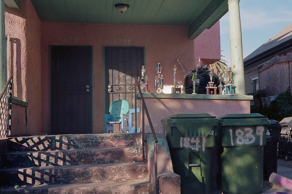 Porch light, trophies | by ADMurr