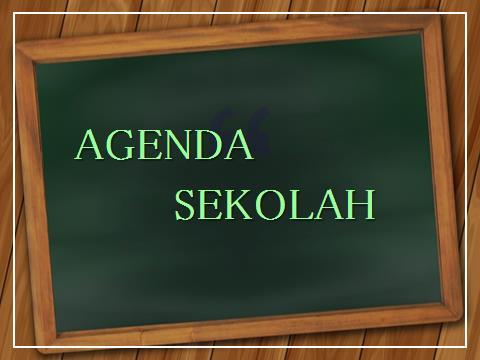 Agenda Bulan April 2018