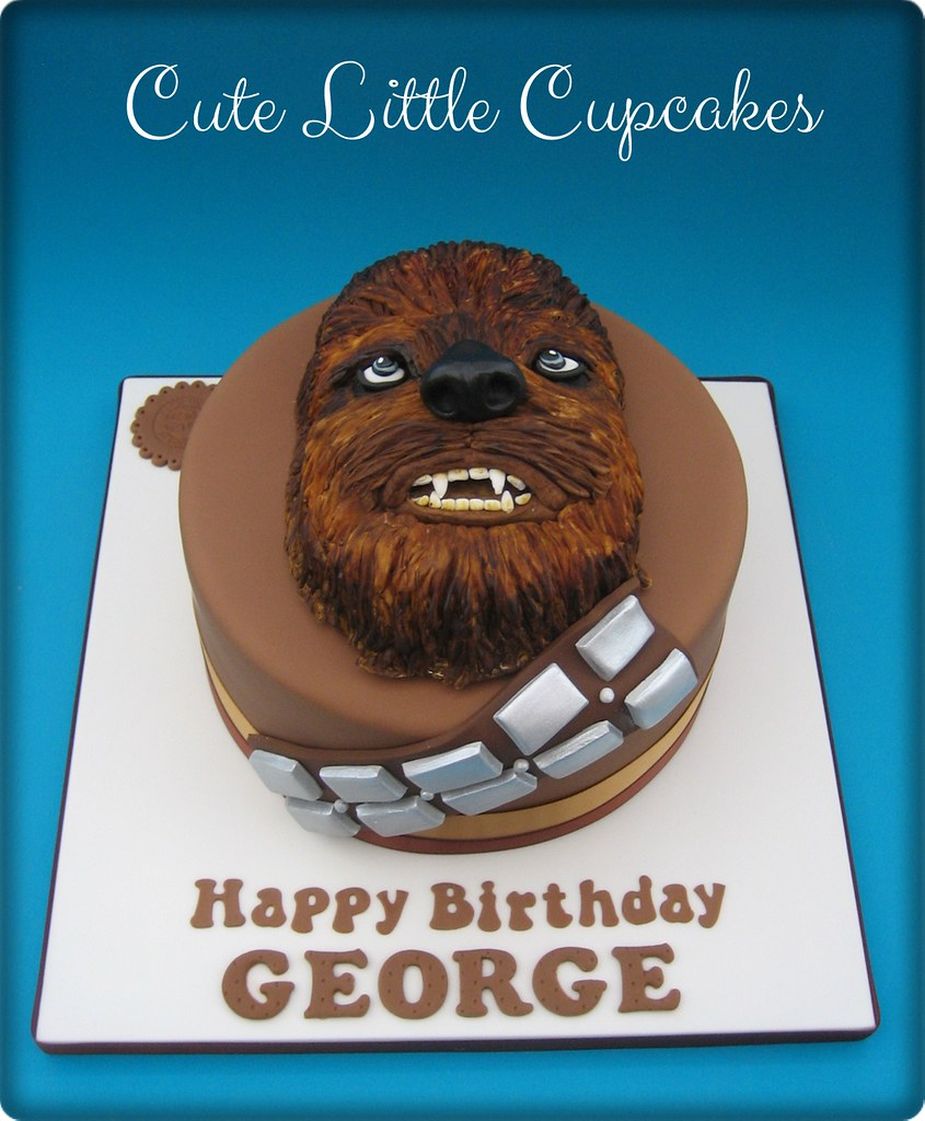 Chewbacca Birthday Cake Heidi Stone Flickr