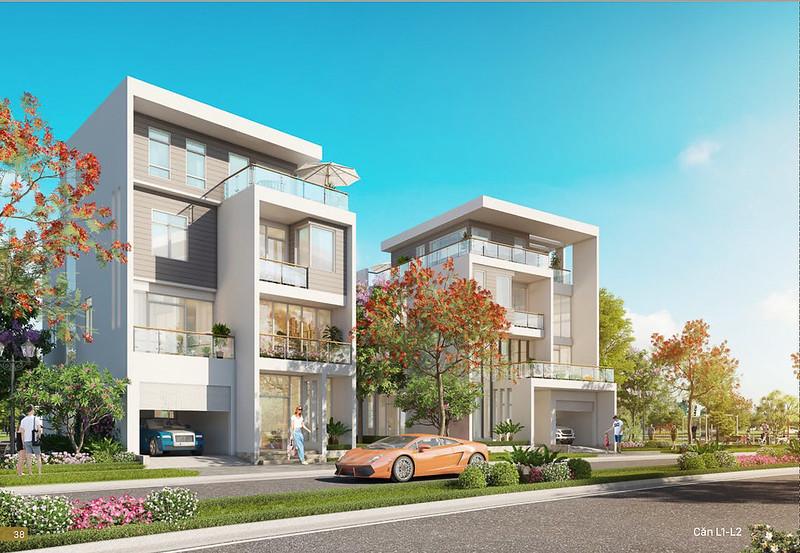 Mẫu thiết kế L1 biệt thự đơn lập Villa Park