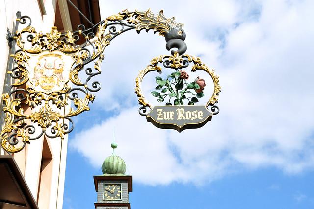 Ilvesheim am Neckar ... Gasthaus Zur Rose ... Foto: Brigitte Stolle
