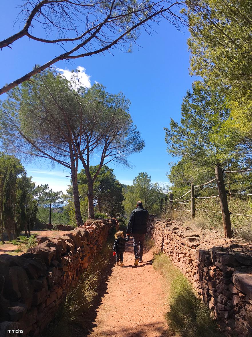 excursión con niños por el Garbí en la sierra Calderona
