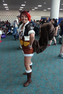 Squirrel Girl cosplay.