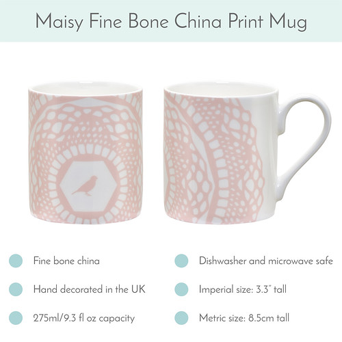 Cloud Pink Maisy Mug available now! | by toriejayne