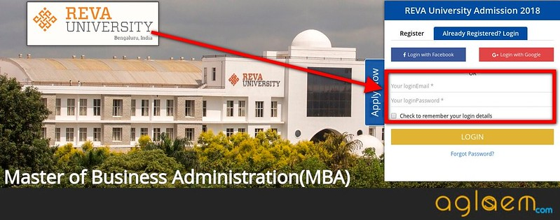 REVA MAT 2018 Admit Card / Hall Ticket - Get Here  %Post Title, %Post Category, AglaSem