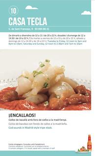 Sitges Tapa a Tapa 2018 - Casa Tecla