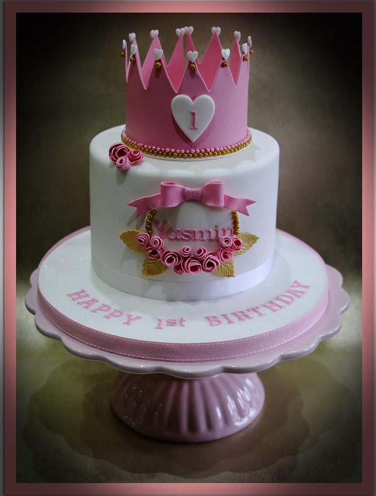 Princess themed Birthday Cake Anita Barrett Flickr