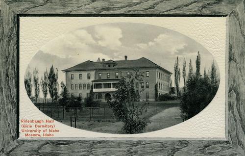 Ridenbaugh Hall, University Of Idaho, 1911