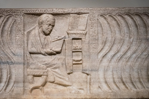 Sarcophagus with a Greek physician | by Nick in exsilio