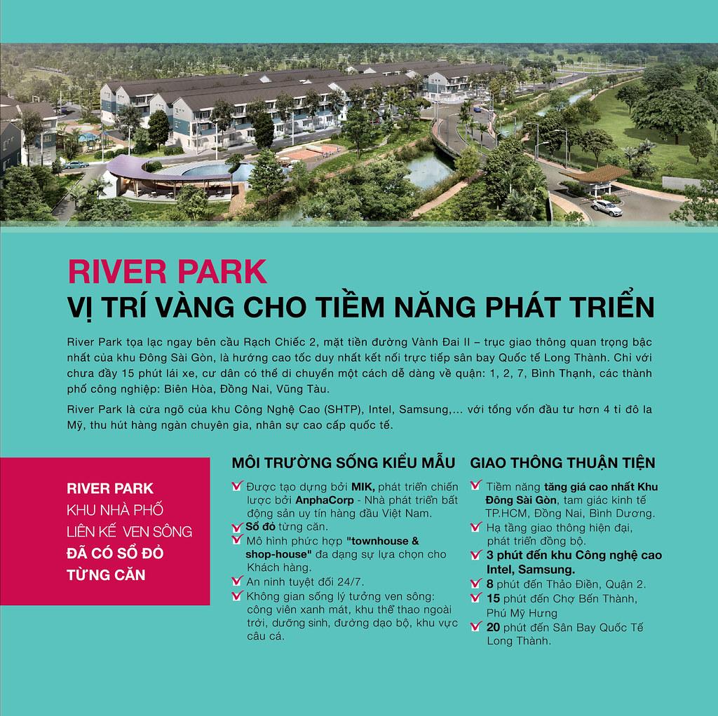 River Park - Nhà phố Shophouse Quận 9 MIK Group 1