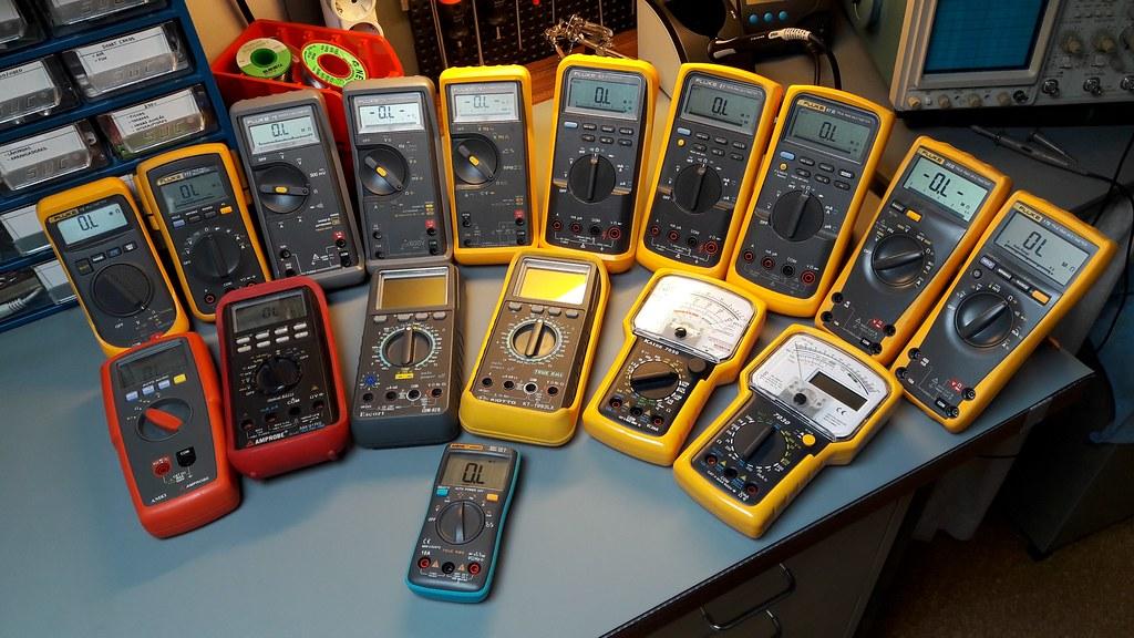 Industrial Multimeters