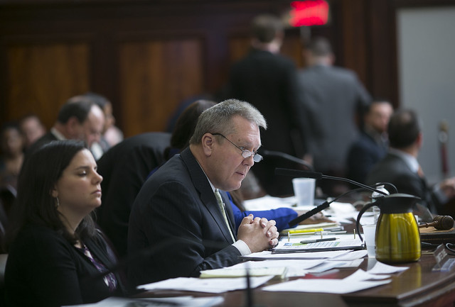 Finance Chair Danny Dromm Listens to OMB Director Melanie Hartzog During  Capital Budget Hearing--