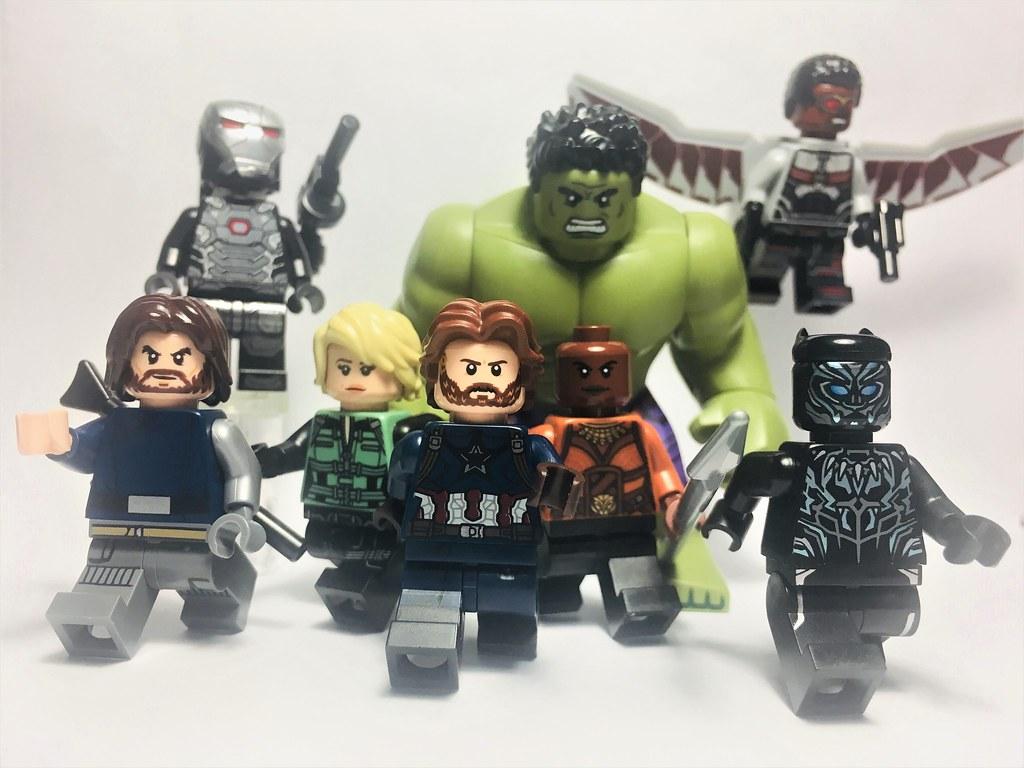 New Avengers Infinity War 17 03 18 Lego White Wolf
