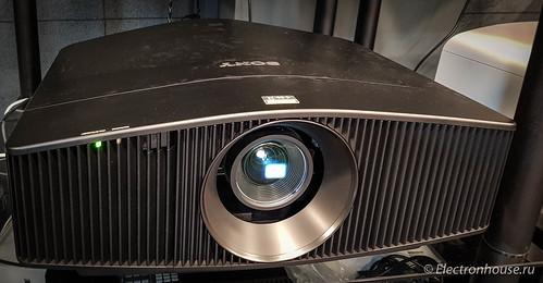 Первые впечатления от лазерного 4k проектора Sony VPL-VW760