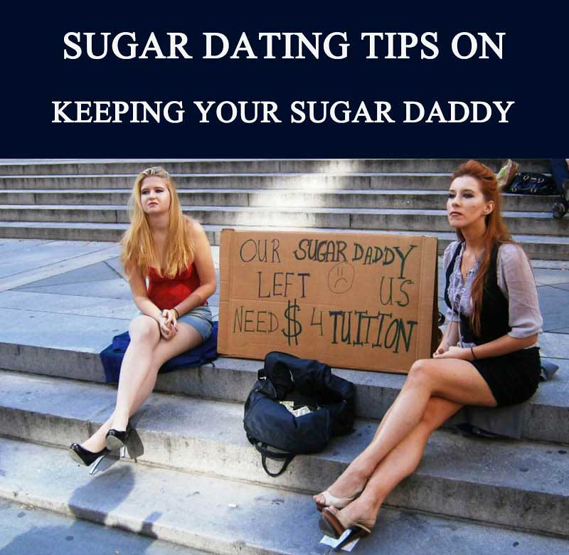 Sugar daddy dating tips woman covered