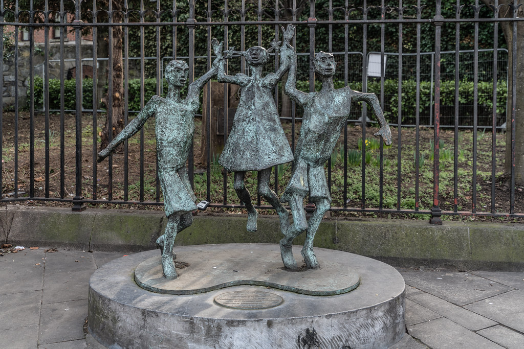 CHILDREN OF THE NEW MILLENNIUM BY JOHN BEHAN [NICHOLAS STREET ACROSS FROM CHRIST CHURCH CATHEDRAL] 001